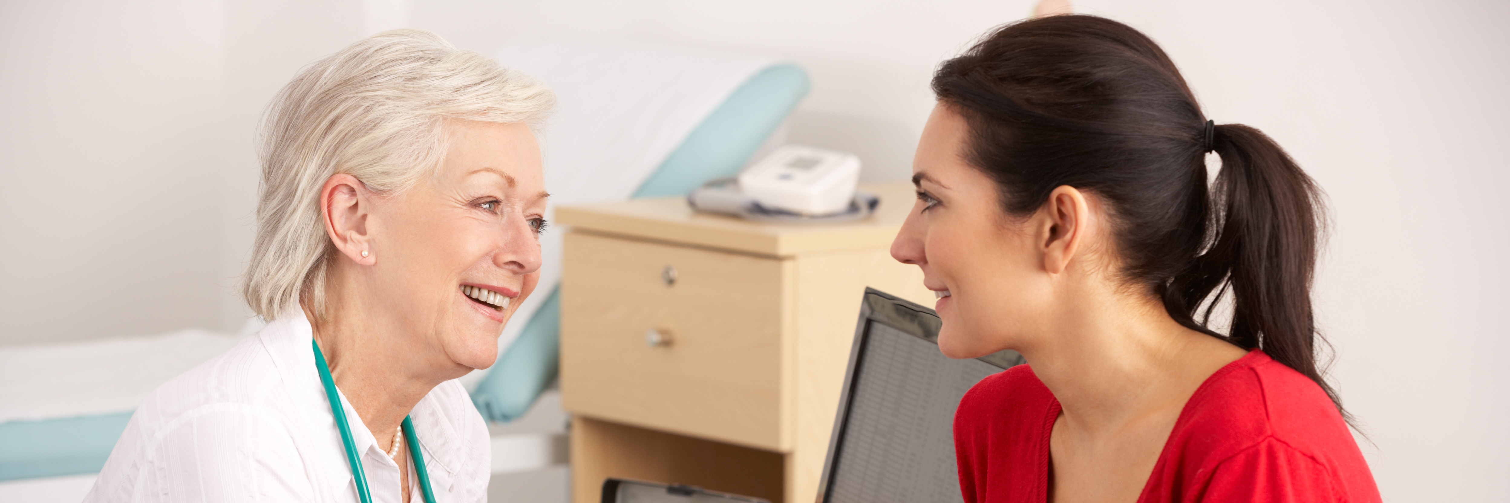 GP with female patient
