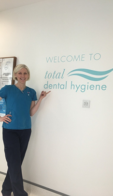 Dental Hygienist, Total Dental Hygiene,  Joanne Cregan