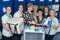 Hospital Pharmacy Team, NHSCT Vaccine Services Pharmacy Team