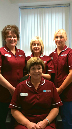 Nursing Team Angela Patterson & SE Trust Continence Service Team
