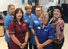 Nursing Team Joanne Spence & the  SHSCT Specialist Continence Team(Adult)